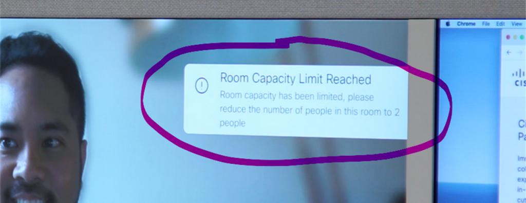 Cisco Webex Room Capacity Limit