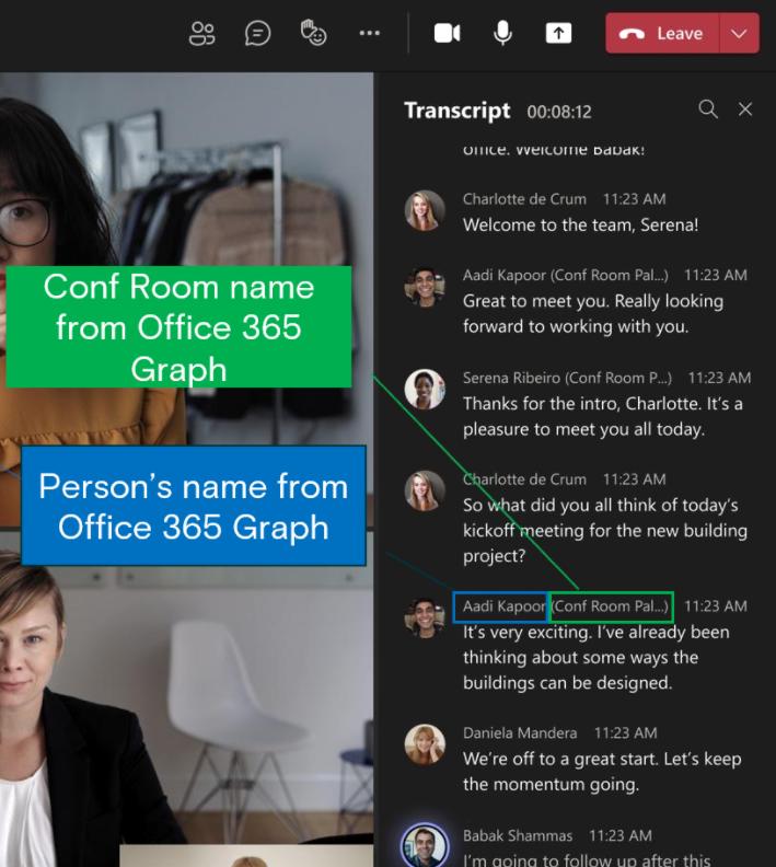 Intelligent Speakers für Microsoft Teams
