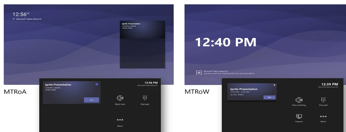 MS Teams Rooms on Windows UND Android